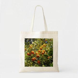 オレンジ蜜柑木 トートバッグ
