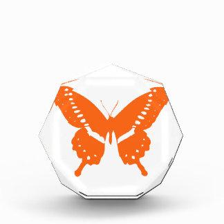 オレンジ蝶 表彰盾