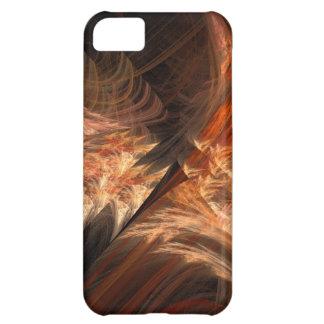 オレンジ融合のフラクタル iPhone5Cケース