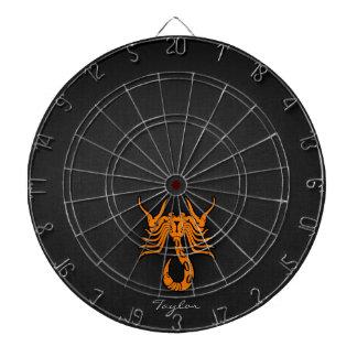 オレンジ蠍座 ダーツボード