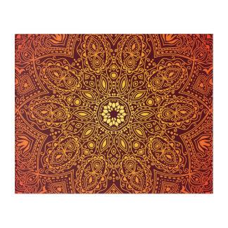 オレンジ装飾用のレースパターン アクリルウォールアート