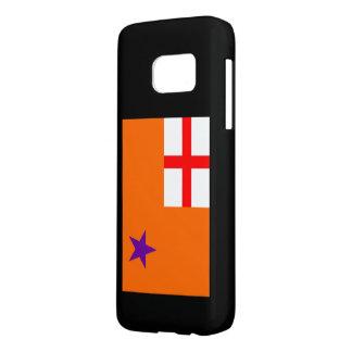 オレンジ順序の電話箱 SAMSUNG GALAXY S7 ケース