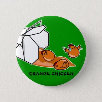 オレンジ鶏の脱出 缶バッジ
