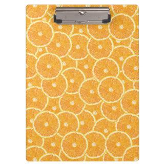 オレンジ クリップボード