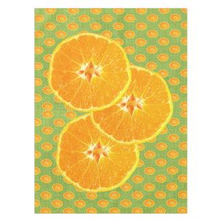 オレンジ テーブルクロス