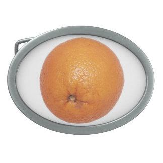 オレンジ 卵形バックル