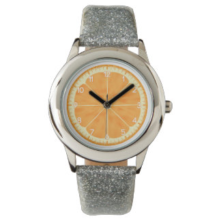 オレンジ 腕時計