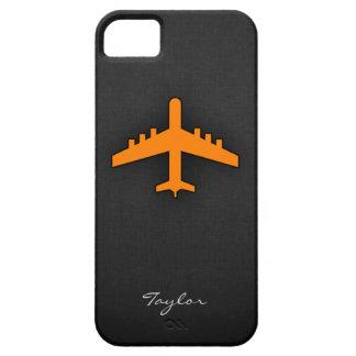 オレンジ 飛行機