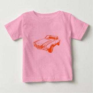 オレンジCamaro ベビーTシャツ
