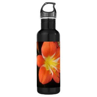 オレンジCliviaのカフィアモロコシユリ ウォーターボトル