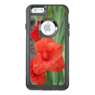 オレンジGladiolasのオッターボックスの通勤者のiPhoneの箱 オッターボックスiPhone 6/6sケース