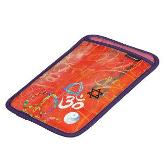 オレンジiPadの袖 iPad Mini スリーブケース