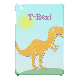 オレンジTレックスの漫画の恐竜のiPadの箱 iPad Mini カバー