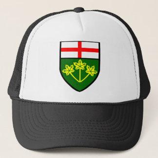 オンタリオの旗 キャップ