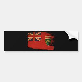 オンタリオの旗 バンパーステッカー