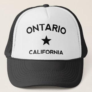 オンタリオカリフォルニアのトラック運転手の帽子 キャップ