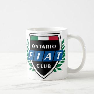 オンタリオフィアットクラブコーヒー・マグ コーヒーマグカップ