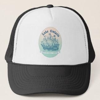 オンタリオ湖の帆船 キャップ