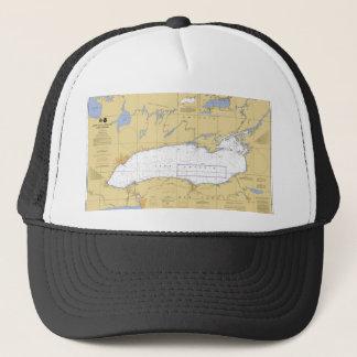 オンタリオ湖の航海のな図表 キャップ