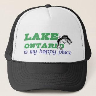 オンタリオ湖は私の幸せな場所です キャップ
