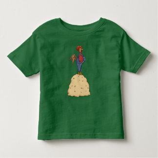 オンドリの三角波 トドラーTシャツ