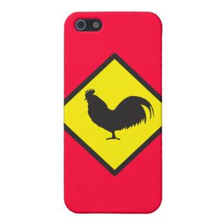 オンドリの交差 iPhone 5 CASE