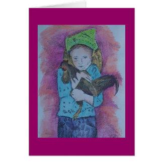 オンドリの子供 カード