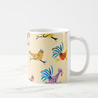 オンドリの朝 コーヒーマグカップ