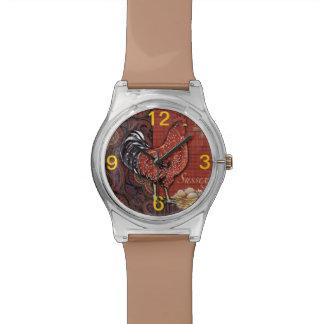 オンドリの腕時計 腕時計