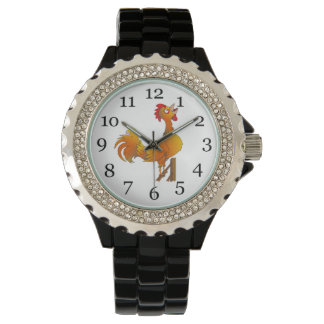 オンドリの鳴くこと 腕時計