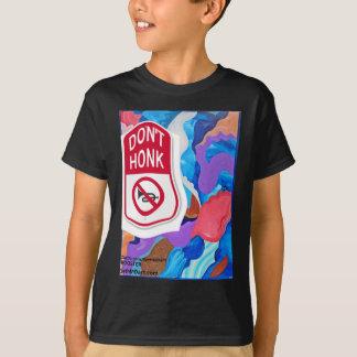 オンドリは警笛を鳴らしません Tシャツ