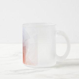 オンライン広告のキャンペーンのためのマーケティング手段 フロストグラスマグカップ