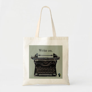 オンレトロのタイプライターのバッグを書いて下さい トートバッグ