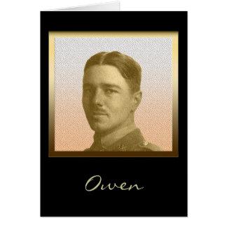 オーウェン-詩人の兵士 カード