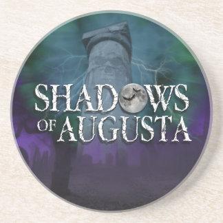 オーガスタのコースターの影 コースター