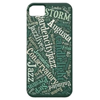 オーガスタジャズiPhone 5/5sの場合(緑) iPhone SE/5/5s ケース