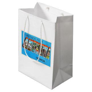オーガスタジョージアGAの古いヴィンテージ旅行郵便はがき ミディアムペーパーバッグ