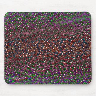 オーガニックなパターン溶けること マウスパッド