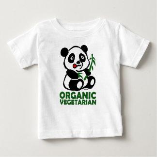 オーガニックなベジタリアン ベビーTシャツ