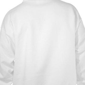 オーガニックな化学者のフード付きスウェットシャツ(backprint) フード付きプルオーバー