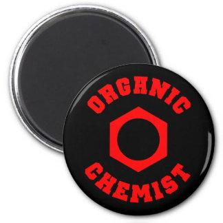 オーガニックな化学者の磁石 冷蔵庫マグネット