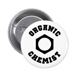 オーガニックな化学者ボタン 5.7CM 丸型バッジ