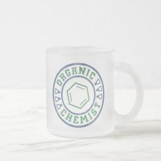 オーガニックな化学者 フロストグラスマグカップ
