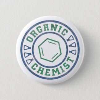 オーガニックな化学者 5.7CM 丸型バッジ