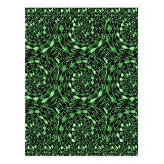 オーガニックな無限緑の本来の性格愛ギフト101 ポストカード