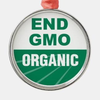 オーガニックな端GMO メタルオーナメント