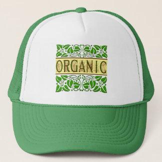 オーガニックな緑のスローガン キャップ