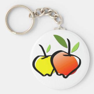 オーガニックな農産物Keychain キーホルダー