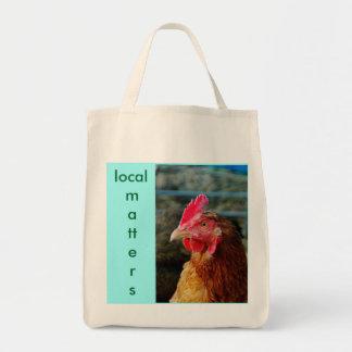 オーガニックな鶏のバッグ#2-の支部の問題 トートバッグ