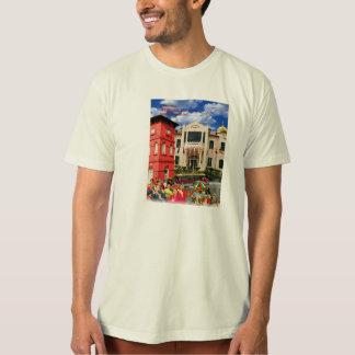 オーガニックなTシャツの訪問Melaka Tシャツ